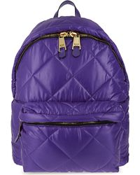 Moschino | Purple Jumbo Quilted Backpack | Lyst