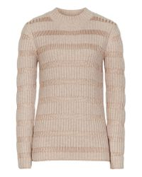Reiss | Natural Porter High-neck Jumper | Lyst