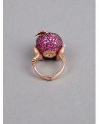 Stephen Webster | Pink Large Poison Apple Ring | Lyst