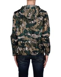 MSGM - Green Jacket for Men - Lyst