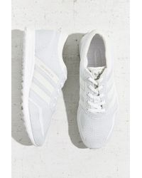 Adidas Originals | Gray Originals Los Angeles Reflective Stripe Running Sneaker | Lyst