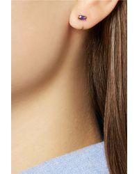 Melissa Joy Manning - Metallic 14-Karat Gold Tanzanite Earrings - Lyst