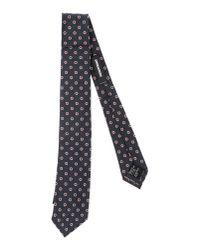 DSquared² - Blue Tie for Men - Lyst