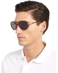 Tom Ford Black Miles Sunglasses for men