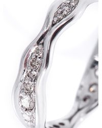 Fernando Jorge - Metallic Diamond & White-Gold Fluid Ring - Lyst