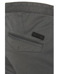 BOSS - Gray 'rice-d' | Slim Fit, Stretch Cotton Chinos for Men - Lyst