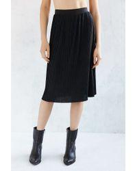 Just Female | Black Mason Skirt | Lyst