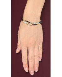 Shashi - Blue Pharrah Bracelet - Turquoise - Lyst