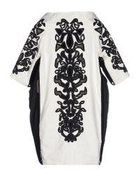 Ermanno Scervino - White Full-length Jacket - Lyst