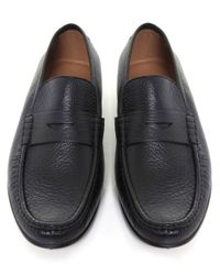 Stemar | Black Sorrento Penny Loafers for Men | Lyst