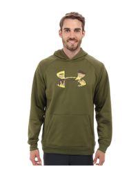 Under Armour - Green Ua Storm Armour® Fleece Overline Hoody for Men - Lyst