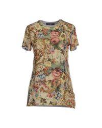 Dolce & Gabbana - Natural T-Shirt - Lyst