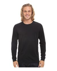 Hurley - Black Staple Dri-fit Long Sleeve for Men - Lyst