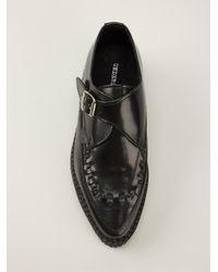 Underground - Black Platform Loafers - Lyst