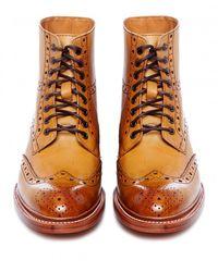 Oliver Sweeney - Brown Wren Brogue Boots for Men - Lyst