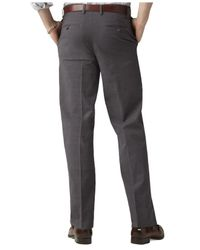 Dockers - Gray D3 Classic Fit Iron Free Flat Front Pants for Men - Lyst