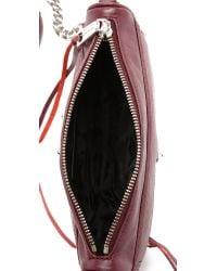 Rebecca Minkoff - Red Mini Mac Cross Body Bag - Port - Lyst