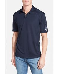Tommy Bahama - Blue 'mlb Firewall - Los Angeles Dodgers' Island Modern Fit Polo for Men - Lyst