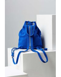 Silence + Noise - Blue Carmen Suede Mini Backpack - Lyst