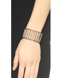 Jamie Wolf | Metallic Nycb Theme White Diamond Bracelet - Silver | Lyst
