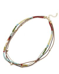 Nakamol | Multicolor Dorãƒâ© Necklace-turquoise Mix | Lyst
