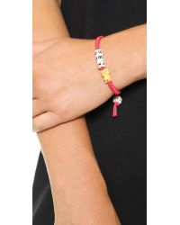 Venessa Arizaga | Red Sex Kitten Bracelet Ruby Multi | Lyst