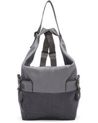 Côte&Ciel - Gray Grey Medium Ganges Alias Backpack - Lyst