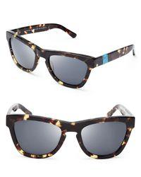 Westward Leaning - Brown Sleeping Beauty Wayfarer Sunglasses - Lyst