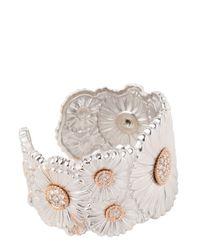 Buccellati | White Diamond Daisy Bracelet | Lyst