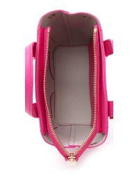 Furla | Pink Perla Mini Cross Body Tote | Lyst