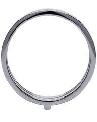 Repossi - Metallic White Gold Triple Band Berbere Ring - Lyst