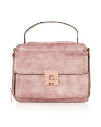 TOPSHOP | Pink Camera Crossbody Bag | Lyst