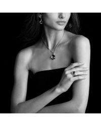 David Yurman - Metallic Wheaton Ring with Moon Quartz and Diamonds - Lyst