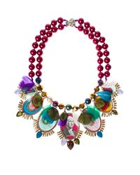 Bijoux De Famille - Multicolor Gypsy Funky Dollar Medallion Necklace - Lyst