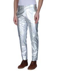 Acne Studios | Metallic Casual Trouser for Men | Lyst