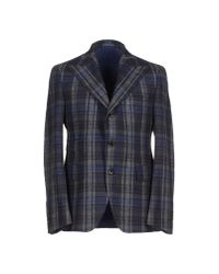 Gabriele Pasini - Gray Blazer for Men - Lyst