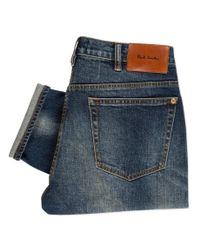 Paul Smith | Blue Men's Slim-fit Antique-wash Jeans for Men | Lyst