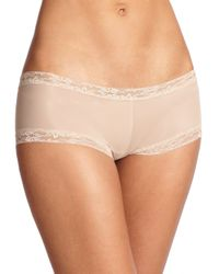 Natori Foundations | Brown Bliss Smooth Girl Short | Lyst