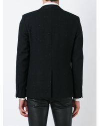 Saint Laurent | Black Tweed Blazer for Men | Lyst