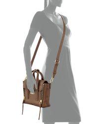 3.1 Phillip Lim | Brown Pashli Mini Leather Satchel | Lyst