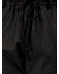 Hache | Black Ruffle Waist Trouser | Lyst