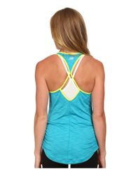 New Balance - Blue Fashion Tank Top - Lyst