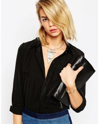 ASOS | Metallic Triple Drop Torque Necklace | Lyst