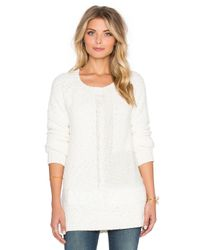 Sanctuary | White New Snuggle Sweater | Lyst