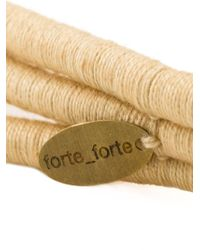 Forte Forte | Natural Wrap Necklace | Lyst
