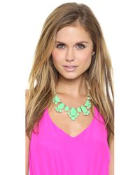 kate spade new york | Green Day Tripper Necklace | Lyst
