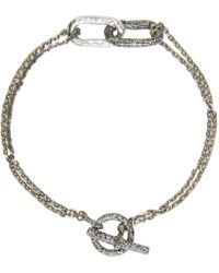 Pearls Before Swine | Metallic Silver Link Bracelet for Men | Lyst
