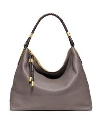 Michael Kors | Gray Skorpios Medium Hobo Bag | Lyst