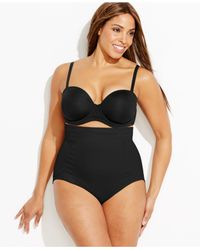 Miraclesuit | Black Shapewear Firm Control High-waist Brief 2924 | Lyst