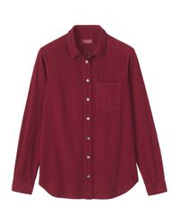 Toast | Purple Cord Shirt | Lyst